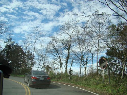 宜蘭-往太平山路上