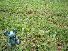bad camoflauge (nuo2x2) Tags: urban toxic grass toy toys outdoor joe swamp qees qee ledbetter nuo2x2