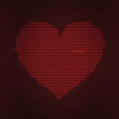 Le amaré siempre (Pixel Fantasy) Tags: love heart text xo miranda iloveu