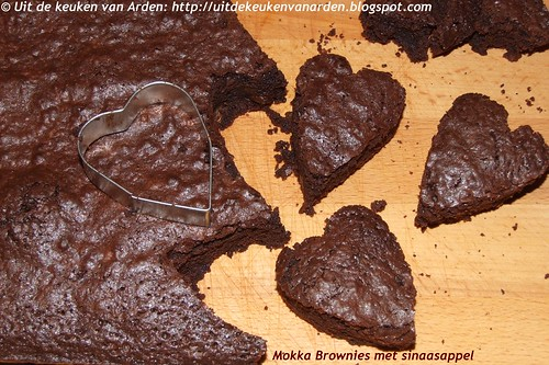 Mokka Brownies met sinaasappel