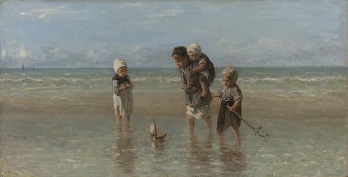 Niños del mar_Jozef Israels