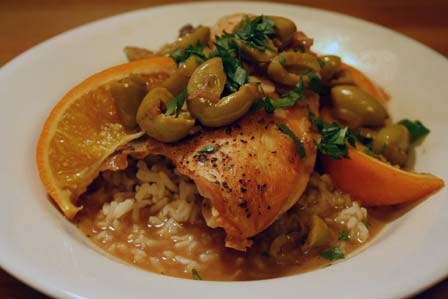 Chicken with Green Olives, Orange, and Sherry – The Kitchen ...