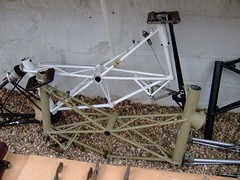 DSCF7379 (anglepoise) Tags: bike museum suspension bradfordonavon stands moulton smallwheels alexmoulton andyforey shaunmoulton