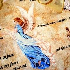 Amazing Grace - fabric detail
