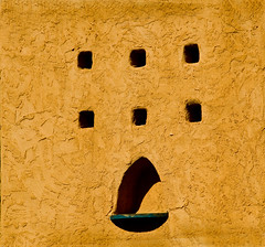 Holes in the Wall (Glen's Pics) Tags: newmexico southwest architecture route66 100views 4thstreet albuquerquenm dukecityfix glenspics top20nm vanetten
