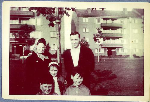 Donaghue family, Cranhill, 1965.