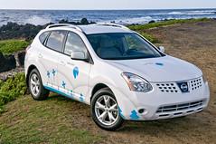 Demo Electric  Vehicle (btrplc) Tags: auto green car electric demo hawaii unitedstates vehicle milestones shaiagassi betterplace dec022008 betterplacecom demovehicleinhawaii