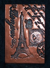 Polymer Clay ACEO Paris
