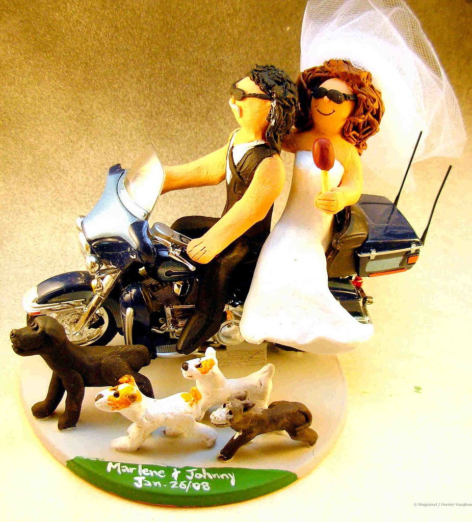 The World\'s Best Photos by custom wedding cake toppers - Flickr Hive ...