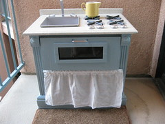 Simple Blue Kitchen