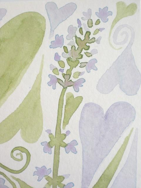 Lavender // close up