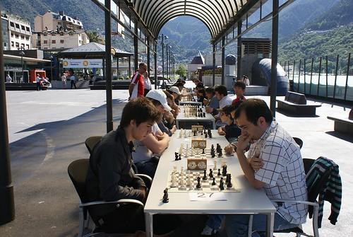 La Plaça del Poble d'Andorra la Vella