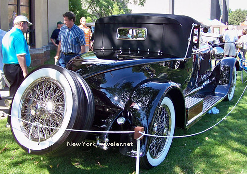 1928 Isotta Fraschini back