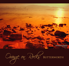Orange on Rocks (Sir Mart Outdoorgraphy) Tags: longexposure sunset beach beautiful landscape scenery gradient breathtaking outing cokinfilter butterworth cokin longex pulaupinang the4elements borr penangflickr sirmart outdoorgraphy butterworthouterringroad penangflickrgroup