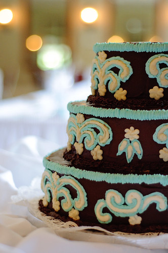 Chocolate Fudge Wedding Cake