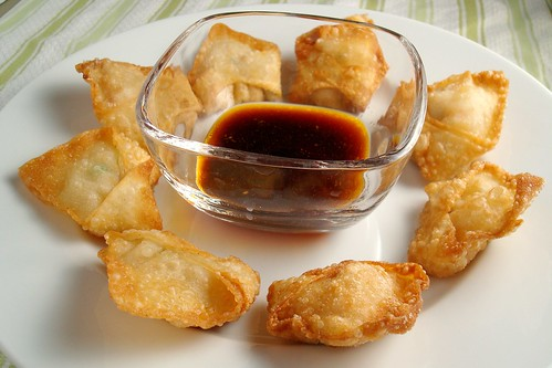 Fried Shrimp Wontons