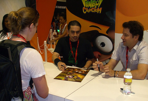 Eric Robles at Comic-Con