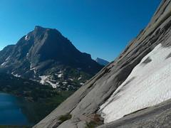 Pingora: (mike.palic) Tags: climbing alpine trad cirqueofthetowers windriversrange