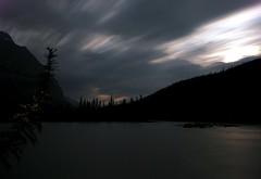 Midnight Magic (Krysta Shippelt (Larson)) Tags: sky mountains tree creek river dark midnight learn pleasedonteatmemrbear rskl2012 rskl2010