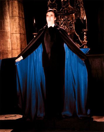 Dracula (Christopher Lee) in blue?