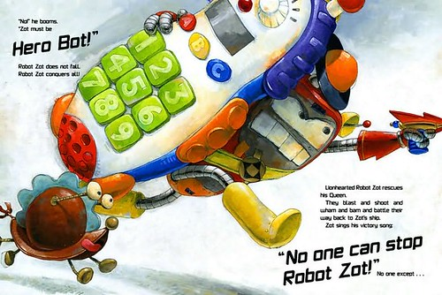 3792939645 74dc361de1 Review of the Day: Robot Zot! by Jon Scieszka
