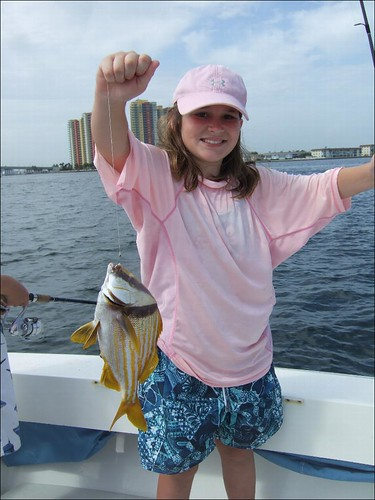 Dylan catches a Big Porkfish!