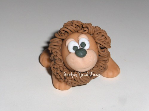 Gumpaste Lion