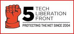 TLF at 5 logo