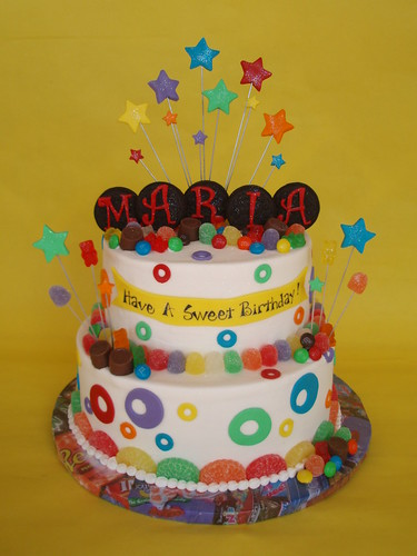 Candy Lover Birthday Cake