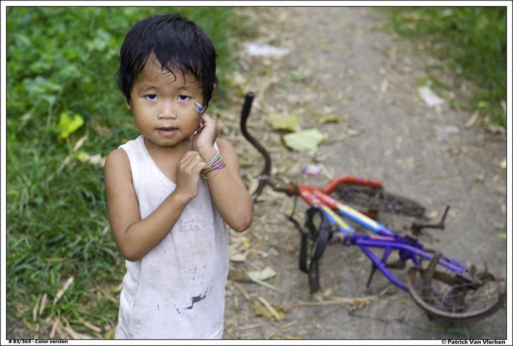 Filipino boy & bike #1