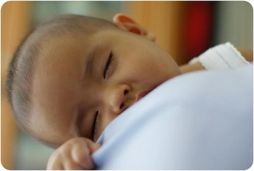 sleep well, baby..