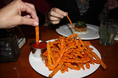 Sweet Potato fries from The Belmont Cafe