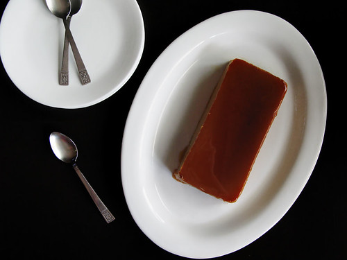 Dulce de Leche Flan (top view)