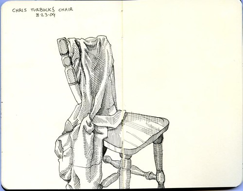 chris turbuck's chair