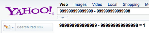 Yahoo Calculator Right