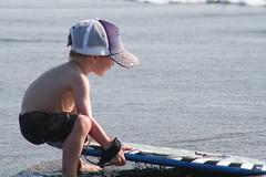 pull. (sweetpeamama) Tags: family beach oregon aidan boogieboard pacificcity capekiwanda summer2009