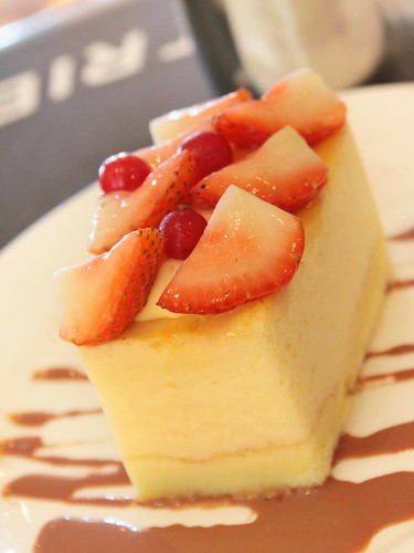 Strawberry Sponge Cheese