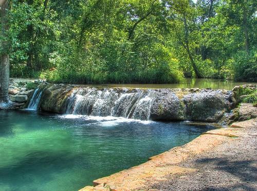 Little Niagra on Travertine Creek, Sulphur Oklahoma