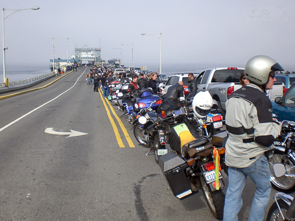 Fauntleroy ferry holding line