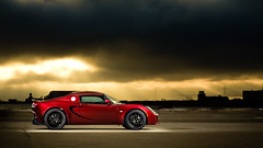 Lotus - Side Profile (Light|n|motion - Imagery by Ethan Caldwell) Tags: lotus elise sunpak383 strobist sunpak120j cybersyncs ethanlcaldwell spotninestudio light|n|motion
