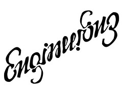 engineering (progressive_letters) Tags: engineering ambigram ambigrams charlesambigram