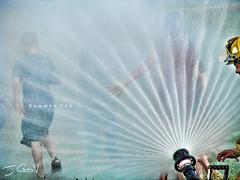Summer Fun (JGo9) Tags: summer water kids canon fun action spray powershot hose fireman s51s