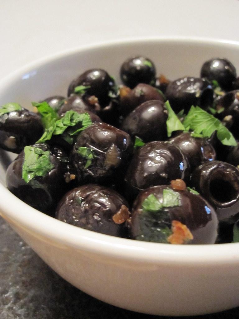 sauteed olives