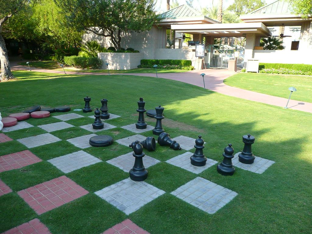 Phoenix, AZ Biltmore Hotel ~ Chess