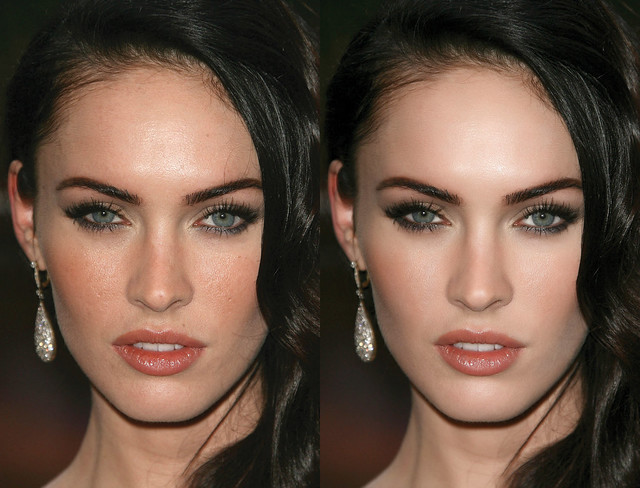Megan Fox - Glamour skin retouch by іsa