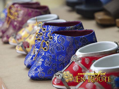 Jalan Tokong Nyonya Beaded Shoes