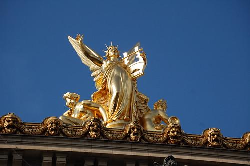 Detalle palacio de La Opera