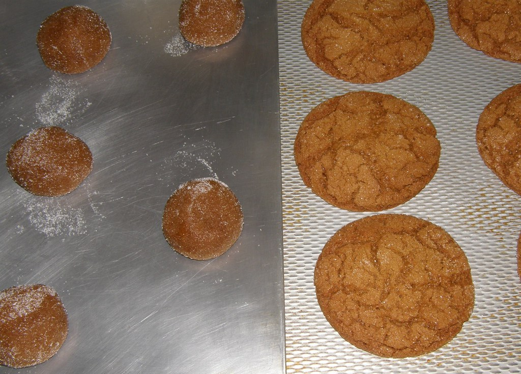 My Mom's Molasses Cookies