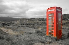 Best of British (steverichard) Tags: red west nature coast scotland photo image box phonebooth telephone nowhere land remote isolation wilderness desolate isolated phonebox ardnamurchan schotland ecosse ardtoe kentra steverichard srichardimagescom