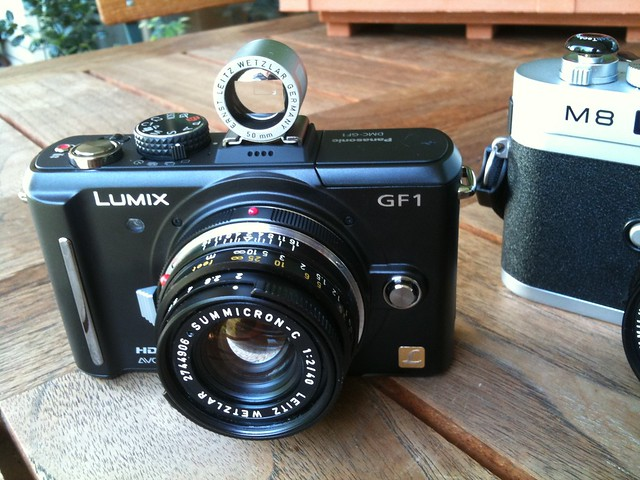 Lumix GF1 with Leitz Summicron 40mm